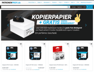 patronenprofi.de screenshot