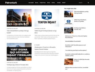 patronturk.com screenshot