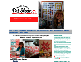 patsloan.com screenshot