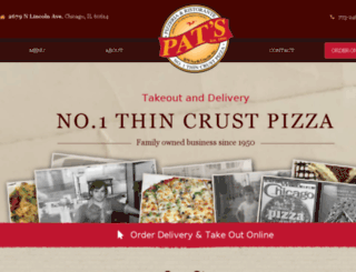 patspizza.info screenshot