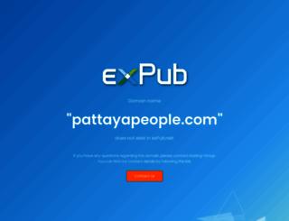 pattayapeople.com screenshot