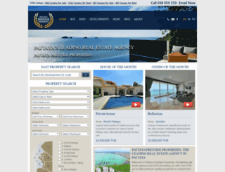 pattayaprestigeproperties.com screenshot