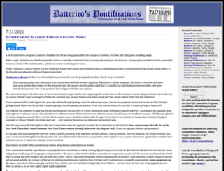 patterico.com screenshot