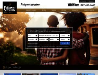 pattersonschwartz.com screenshot