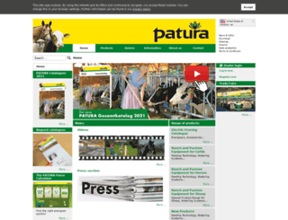 patura.com screenshot