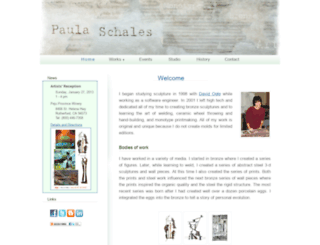 paulaschales.com screenshot