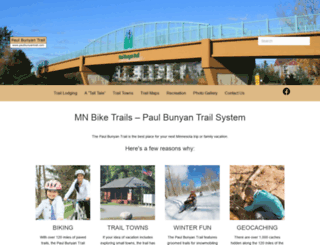 paulbunyantrail.com screenshot