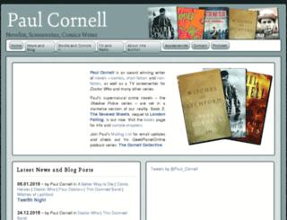 paulcornell.com screenshot
