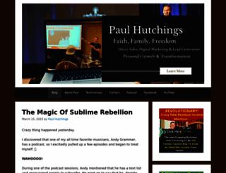 paulhutchings.net screenshot