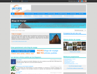 paulineaupaysdoz.uniterre.com screenshot