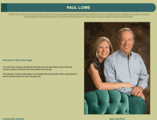 paullowe.com screenshot