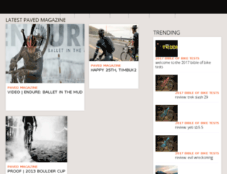 pavedmag.com screenshot