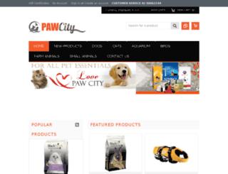 pawcity.com.au screenshot