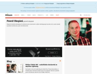 pawel-okopien.myapple.pl screenshot
