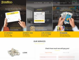 pawnzone.com screenshot