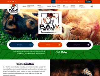pawr.org screenshot