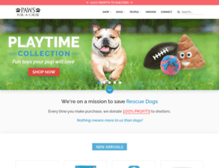 paws-cause.com screenshot