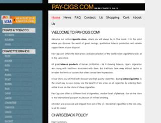 pay-cigs.com screenshot
