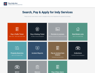 pay.indy.gov screenshot