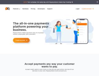 payanywhere.com screenshot