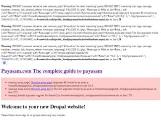 payasam.com screenshot