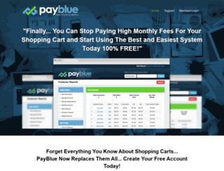 payblue.com screenshot