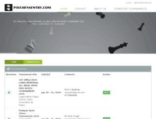 paychessentry.com screenshot