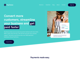 paychoice.com.au screenshot