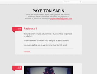 payetonsapin.tumblr.com screenshot