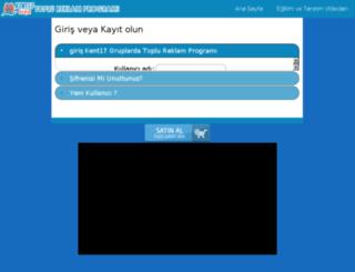 paylasim.kent17.com screenshot