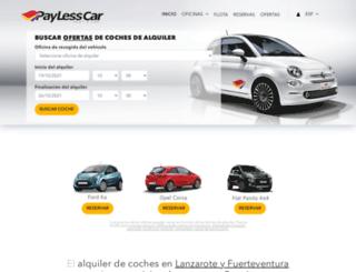 payless.es screenshot