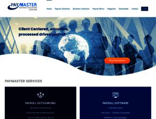paymaster.co.za screenshot
