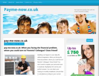payme-now.co.uk screenshot