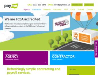 payme.co.uk screenshot