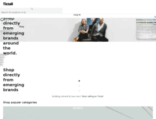 paymentonline.tictail.com screenshot