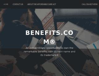 payments.benefits.com screenshot