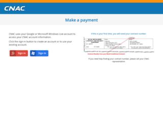 payments.cnac.com screenshot
