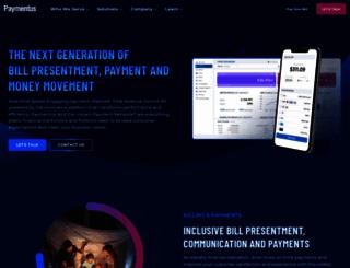 paymentus.com screenshot