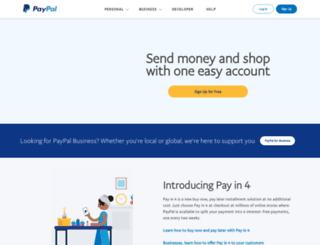 paypal-latam.com screenshot