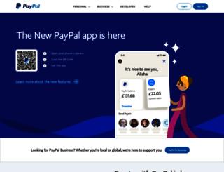 paypal-marketing.co.uk screenshot