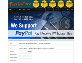paypalbd.com screenshot