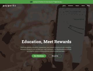 payperks.com screenshot