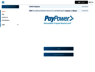paypower.ca screenshot