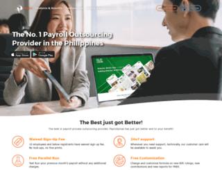 payrollpinas.com screenshot