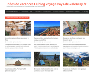 pays-de-valencay.fr screenshot