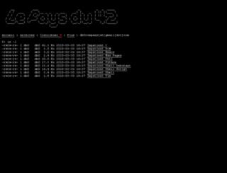 paysdu42.fr screenshot