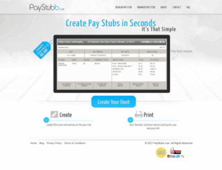 paystubb.com screenshot