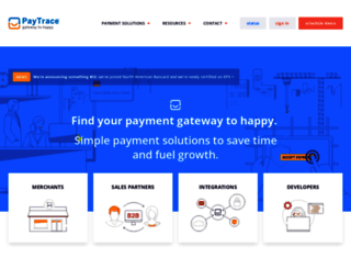 paytrace.net screenshot