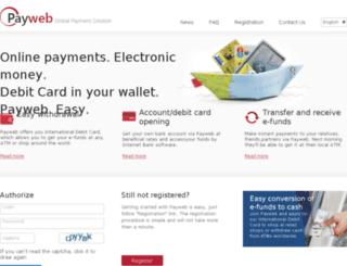 payweb.com screenshot