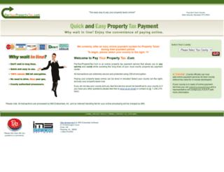 payyourpropertytax.com screenshot